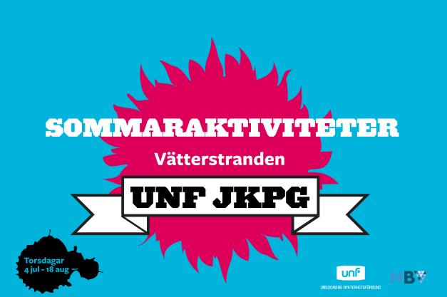 UNF Sommaraktiviteter - logga 2017 blå röd-01